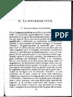 BOBBIO, Norberto. Estado, Gobierno y Soc. Cap. 2