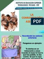 3.- Comunicación asertiva
