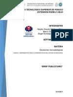 D.M Unidad II Brief