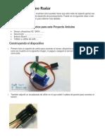 Proyecto Arduino Radar