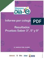 Informe Por Colegio 2016
