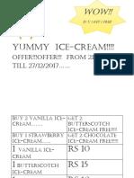 Yummy  ice
