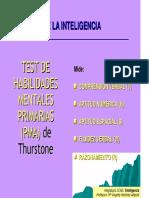 Evaluacion de Las Capacidades-PMA de Thrustone. DAT-5