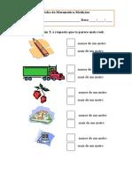 Ficha Medições