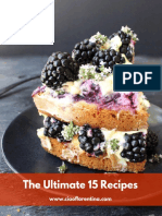 Top 15 Recipes ECookBook