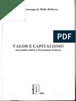 BELLUZO, Luiz Gonzaga de Mello. Valor e Capitalismo