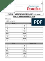 frans werkwoordenlijst en action  1