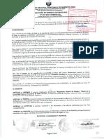 Reglamento General de Grados y Titulos de La Universidad Nacional Amazonica de Madre de Dios