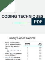 1.4 - Coding Techniques