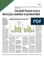 Agroexportación puede frenarse si no se innova para aumentar su productividad - Ricardo Fort - Gestión - 28/02/2018