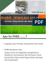 Penyuluhan CJH PHBS