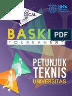 Juknis Basket Univ Smc 2017