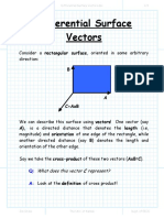 Differential Surface Vectors