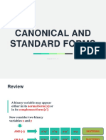 1.7 Canonical and Standard Forms