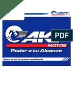 Manual de Herramienta Especializada Akt