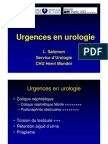 Urgences en Urologie