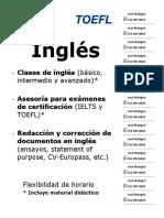 Anuncio Inglés