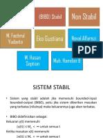 Sistem Stabil Dan Non Stabil (1)