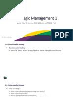 MBA - Strategic Management