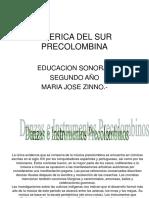 Precolombinos Segundo Años.