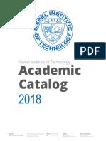 Siebel Institute Academic Catalog R2018 2
