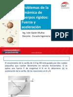 Problemas Dinamica Cuerpo Rigido_Fuerza y Aceleracion