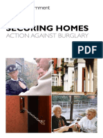 Securing Homes Against Burglary