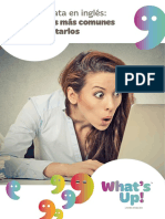 eBook Whatsup Errores en Ingles