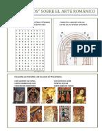 Localiza en La Sopa de Letras 9 Términos Completa La Imagen Con Las Relacionados Con La Arquitectura Partes de La Portada Románica