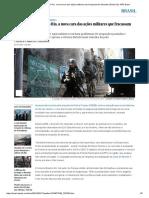 Intervenção Federal No Rio, A Nova Cara Das Ações Militares Que Fracassam Há Décadas _ Brasil _ EL PAÍS Brasil