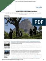 Intervenção No Rio e Nosso Frágil Constitucionalismo _ Opinião _ EL PAÍS Brasil