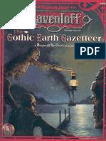 AD&D - Ravenloft - The Gothic Earth Gazetter.pdf