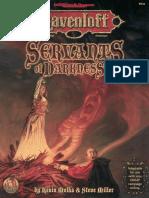 AD&D - Ravenloft - Servants of Darkness