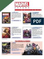 Catálogo ABRIL 2018 Marvel