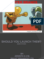 should you launch a fighter brand