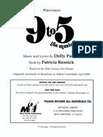 9 to 5 - percussion.pdf