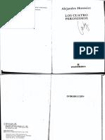 Horowicz, Alejandro_Los Cuatro Peronismos