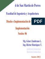 Dis s 06 Implementacion 2010 i
