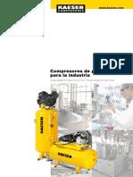 Compresor a Piston Industrial Kaeser