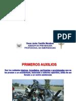 Presentación Primeros Auxilios ARL LIBERTY 2013