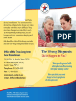 The Wrong Diagnosis - Did It Happen To You?