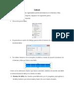 Insertar Tablas en OpenOficce impress