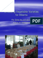 Organic Alberta 2018 Conference Presentation - Choosing New Varieties From the Customer, Producer and Climate Perspective by Denise O'Reilly
