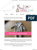 Post Invitado_ DIY Buzo para bebé de Misabel ~ Sara's Code_ Blog de Costura + DIY