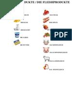 Die Milchprodukte