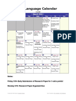 ap march calendar