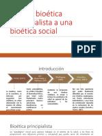 De Una Bioética Principialista a Una Bioética Social