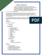 Limpieza y Desinfección.2