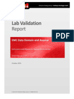 Esg Lab Validation Report Emc Data Domain Avamar