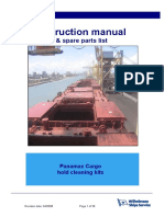Panamax Cargo Hold Cleaning Manual Rev01